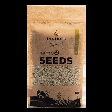 Семена конопли очищенные